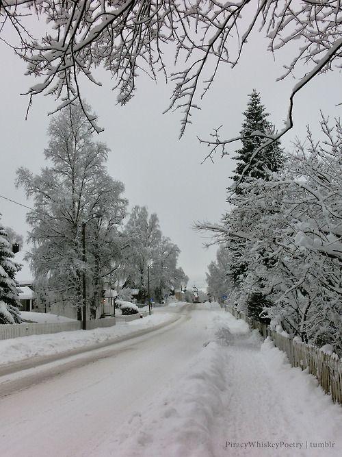 Lillehammer really is winter wonderland.