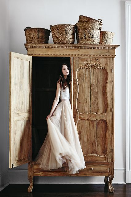 Handcarved Toren Armoire - #anthrofave