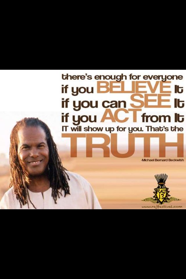 Michael Bernard Beckwith Law of Attraction