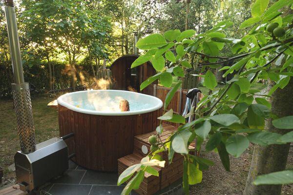 Wellness in je tuin in 2020 Welvaere | Achtertuin, Tuin