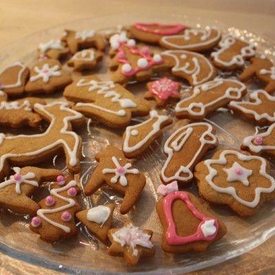 Gingerbread cookies. Paraisten piparkakut