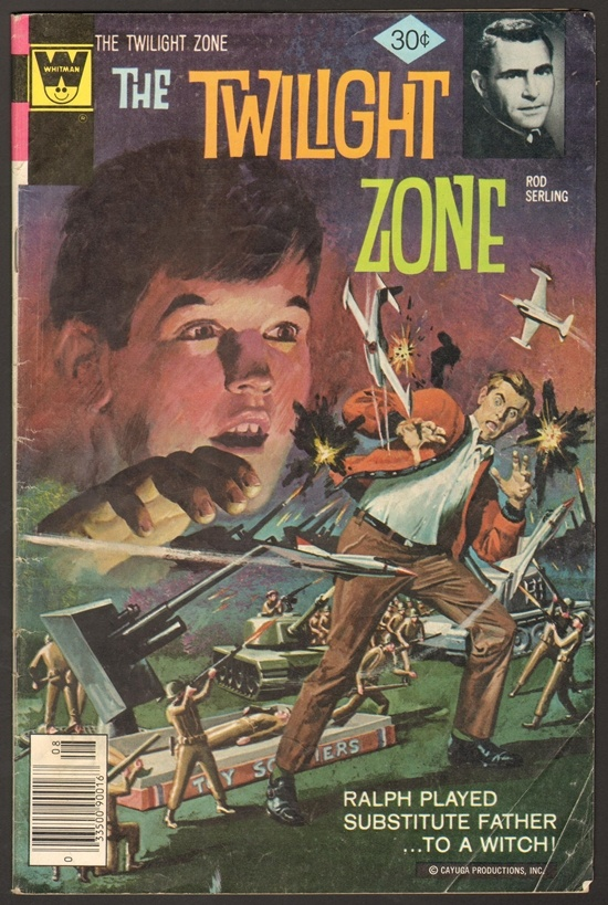 Classic Book Cover Zone : Best images about twilight zone comics on pinterest