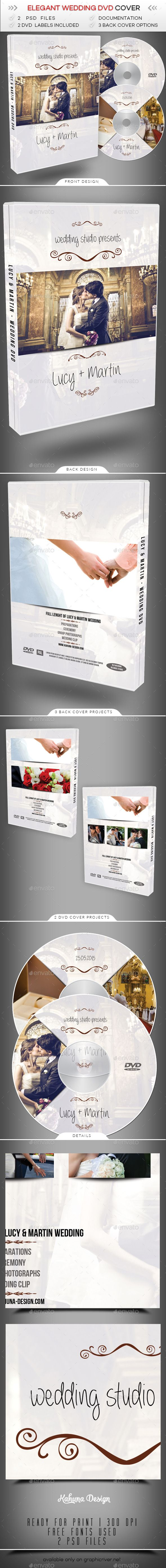 Wedding DVD Cover 2  #PSD • Click here to download ! http://graphicriver.net/item/wedding-dvd-cover-2/9258934?s_rank=17&ref=pxcr