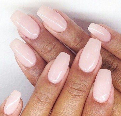 Coffin shape nails