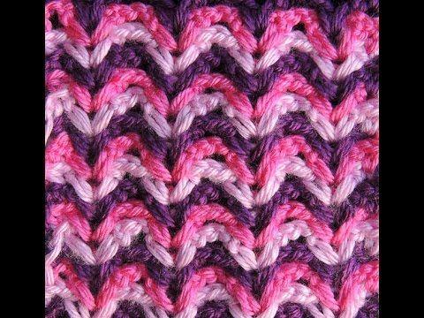 Crochet : Punto Fantasia en Colores