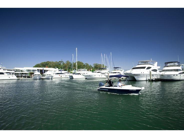 InterContinental Resort - boats