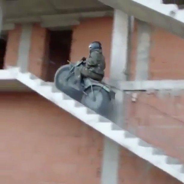 all terrain bike... military