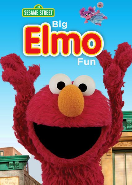 Sesame Street: Big Elmo Fun - Elmo grows to amazing heights, befriends a beautiful monarch butterfly and competes on a cooking show in this collection of stories.