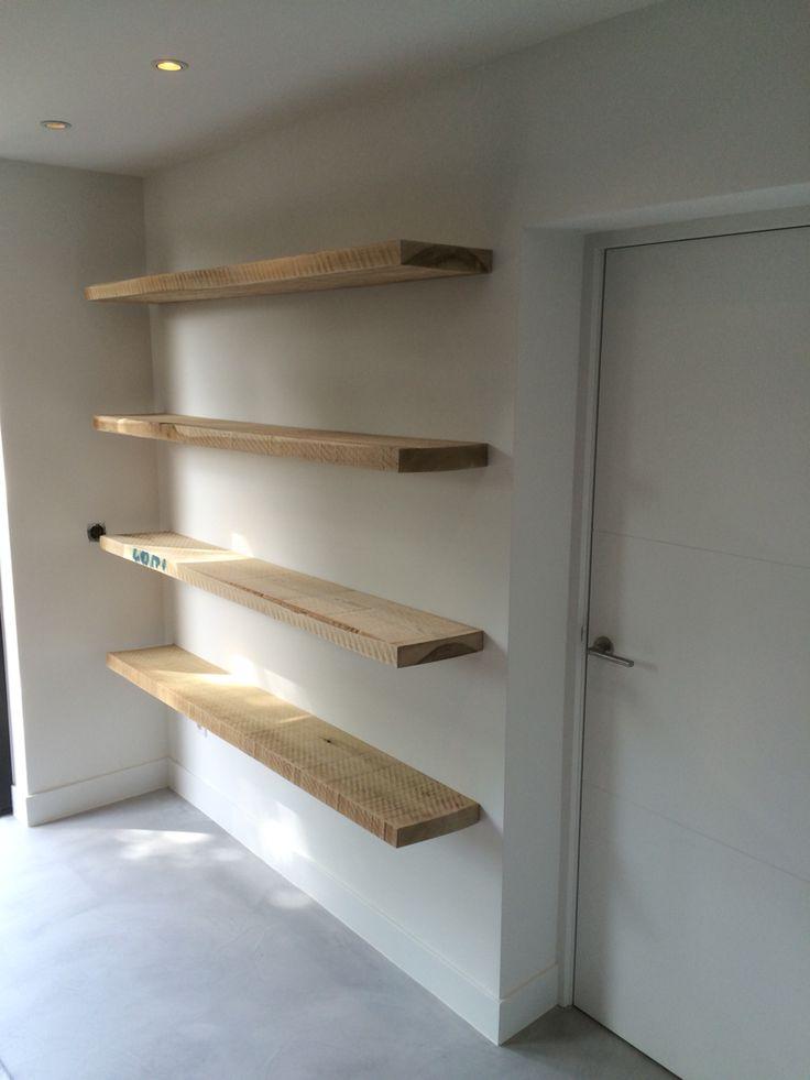 Houten Plank Blind Ophangen.Plank Onzichtbaar Ophangen Latest Ophangen Is Makkelijk Want De