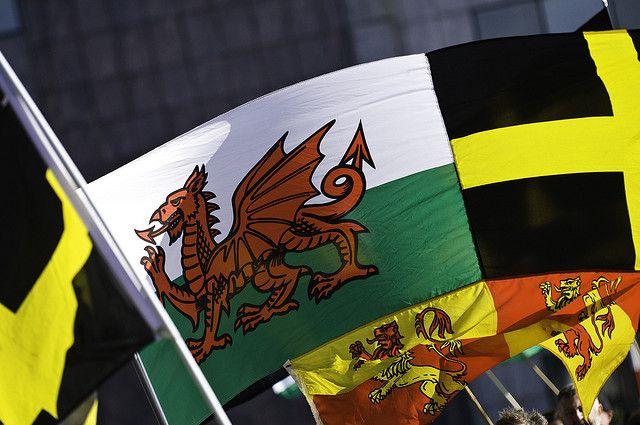 Welsh flag, St David's flag, St David's Day / Baner Cymru, Baner Dewi Sant, Dydd Gŵyl Dewi 2009   Flickr - Photo Sharing!