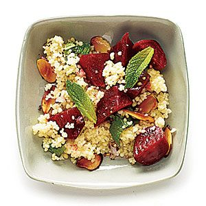Beets with Couscous, Mint, and Almond - SBD3