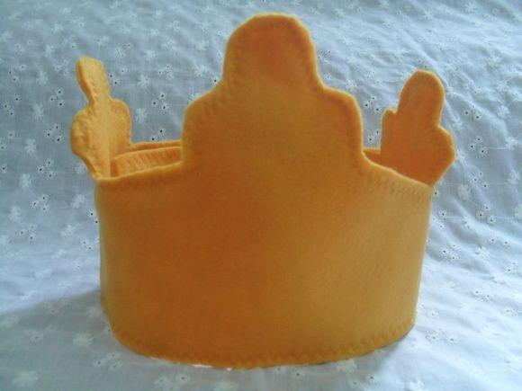 Coroa Feltro Pequeno Príncipe