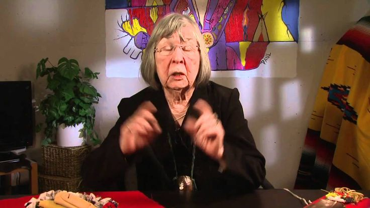 Elder Elize Hartley talks about the 7 grandfather teachings of the Metis