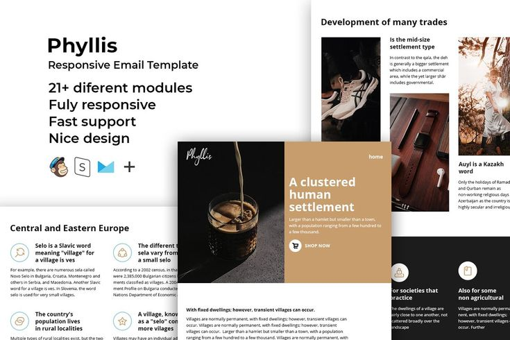 Phyllis – Responsive Email template