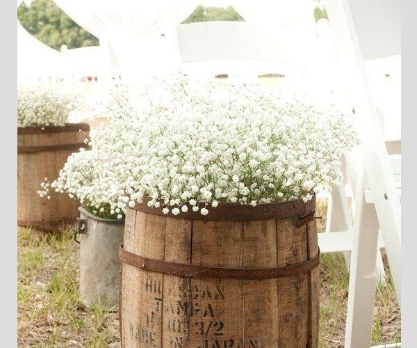 mosquitinho na decoração do casamento