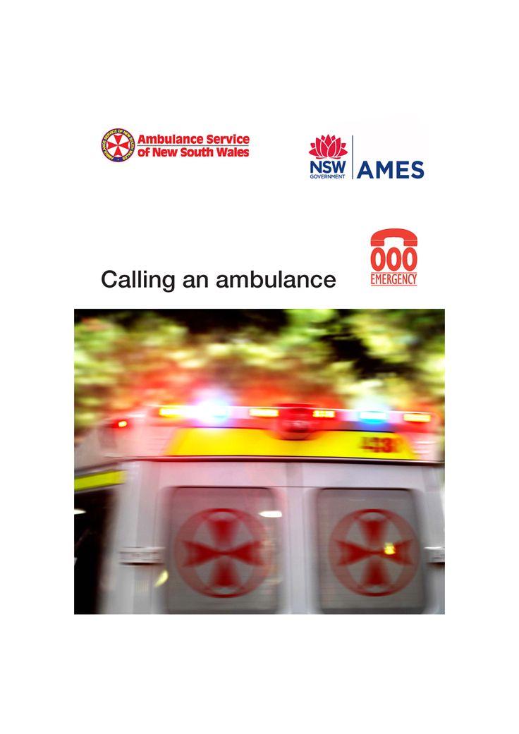 Free teaching resource - Calling an Ambulance