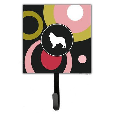 Caroline's Treasures Belgian Tervuren Leash Holder and Wall Hook