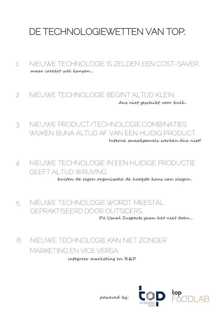 De Technologiewetten van TOP by Wouter de Heij via slideshare