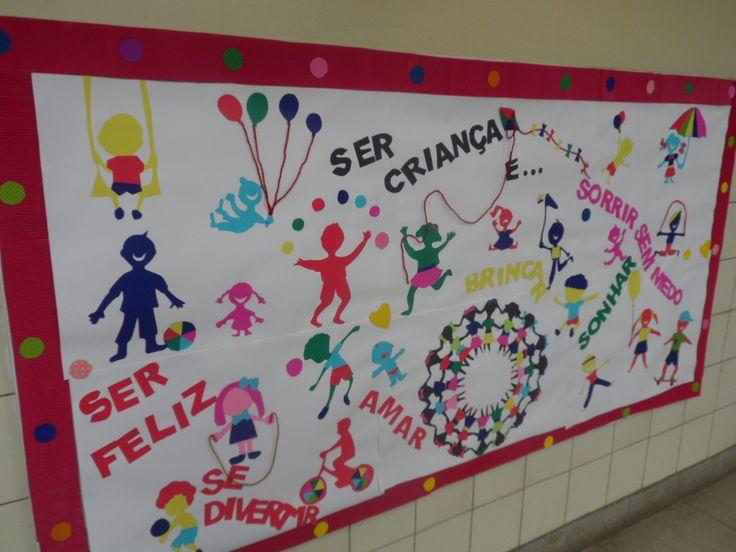 Painel Dia das Crianças - by Ana Dias para Escola Experimental