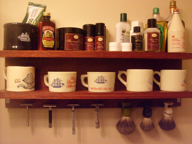 Wet Shaving Rack