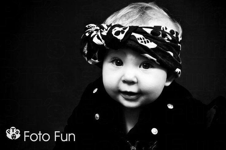 Baby Aurora with Skull bandana
