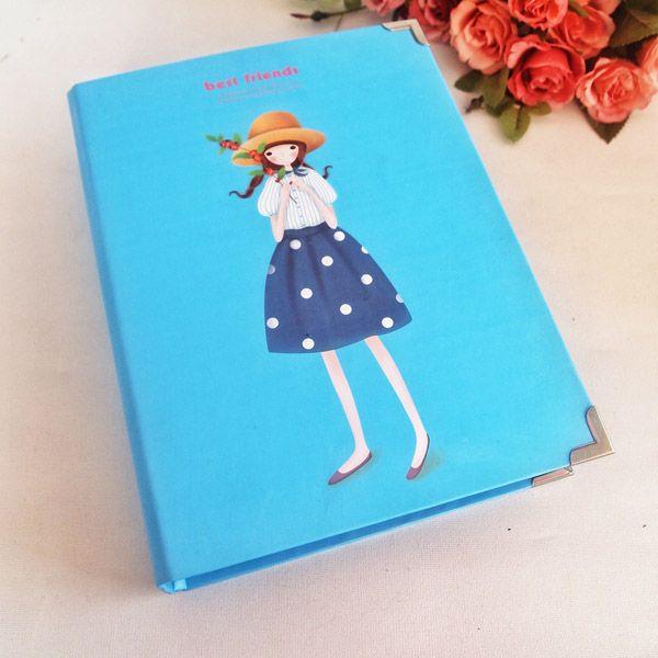 Sevimli Kız Mavi Kendin Yarat Fotoğraf Albümü