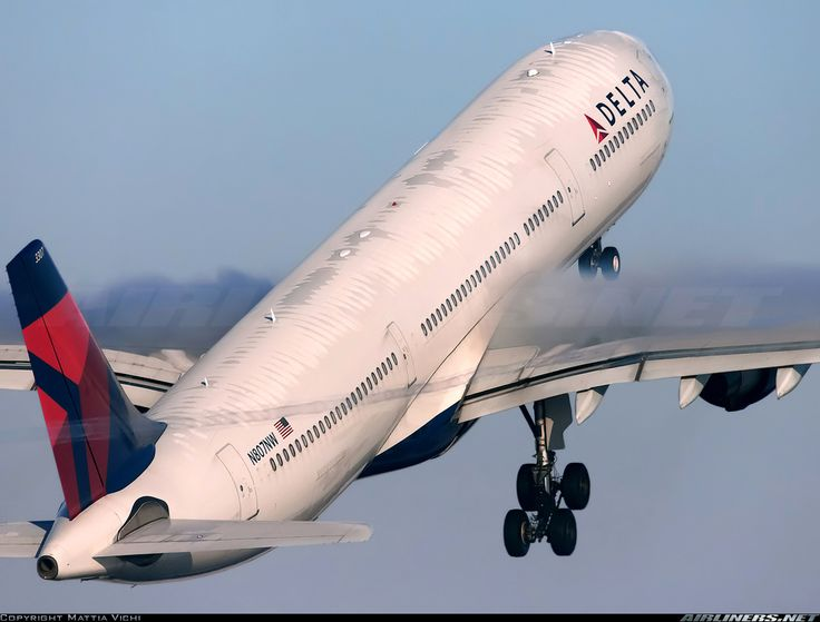 Delta Air Lines N807NW Airbus A330-323X aircraft picture