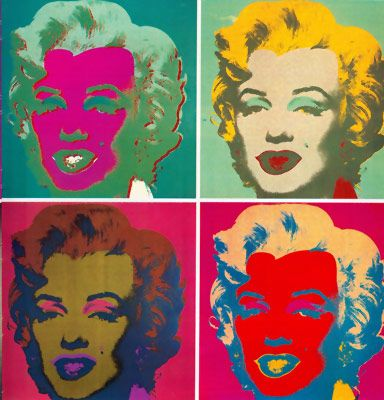 WarholModern Classic, Pop Art, Marilyn Monroe, Marilynmonroe, Contemporary Art, Art History, Popart, Andy Warhol, Bright Colours