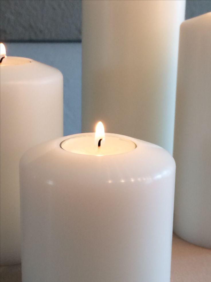Farluce Kerzen für immer!!! Ausgewechselt werden nur die Rechaudkerzen