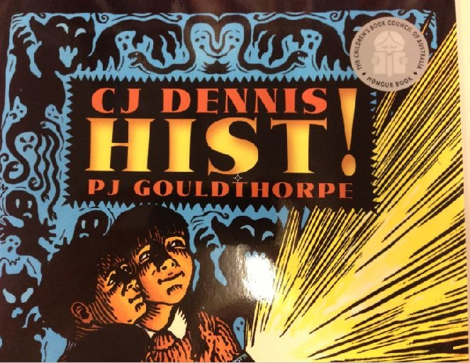 The classis C J Dennis poem illustrated by P J Gouldthorpe creates an atmosphere of suspense and adventure. Published by Walker Books.