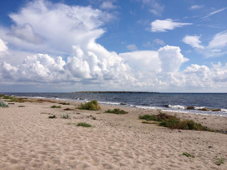 Austre beach, southern Gotland, Sweden.