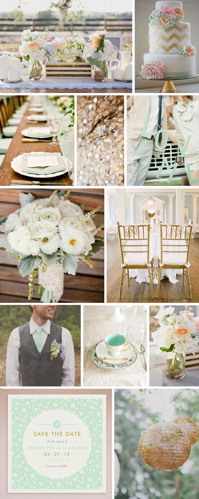 Guest Post: Oh-So-Loverly Color Schemes #3 » The Wedding Suite | Nordstrom.com