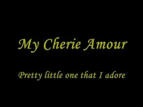 Stevie Wonder - My Cherie Amour (1969) I love this song, my Godfather used to sing this me, he is a father figure to me <3 love this song, has such meaning <3 <3 <3