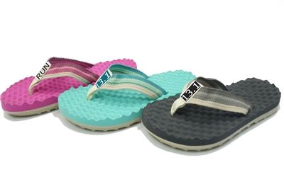 Sandals for runners. Post-run recovery massaging footwear. Comes in various color and distance or logos. Awesome gifts for runners. $22.99
