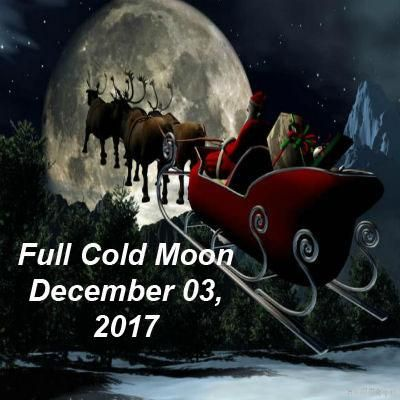 The last full moon of the year occurs on December 03, 2017 and is in the sign of Gemini. In Native American cultures which tracked the calendar by the Moons, De