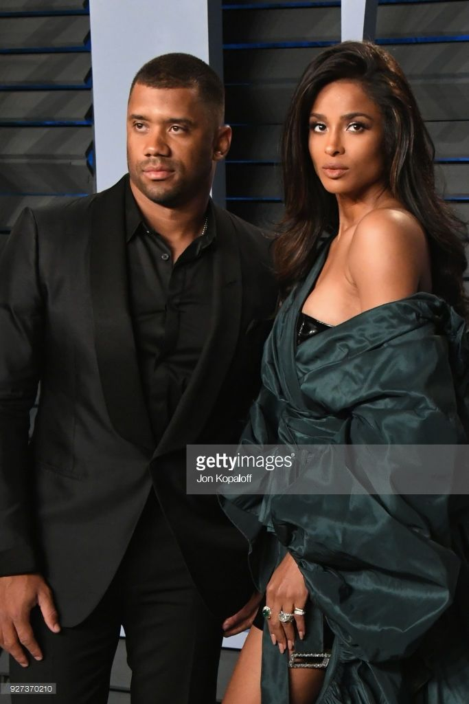 Russell Wilson And Ciara Attend The 2018 Vanity Fair Oscar Party Vanity Fair Oscar Party Ciara Vanity Fair