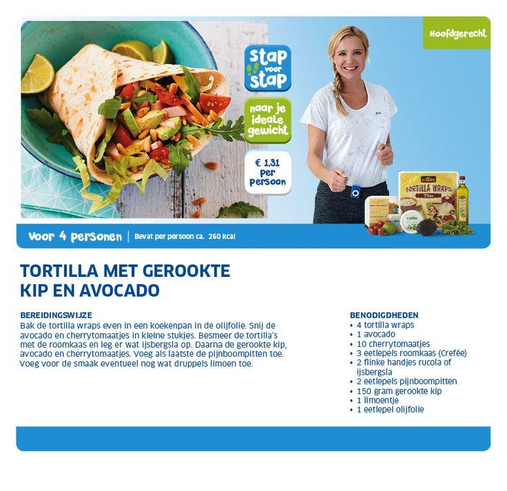 Tortilla met gerookte kip en avocado - Lidl Nederland