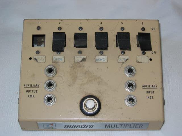 Maestro Multiplier Effects Switcher MM-1