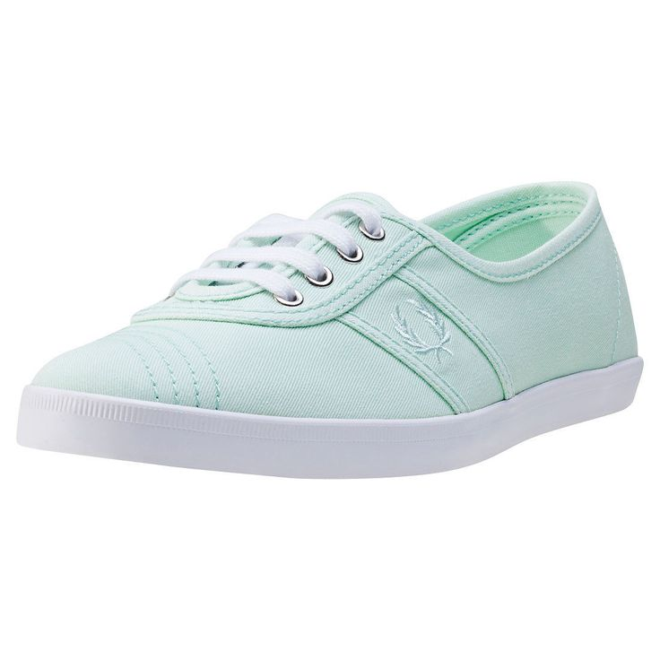 Fred Perry Aubrey Womens Trainers Aqua Shoes