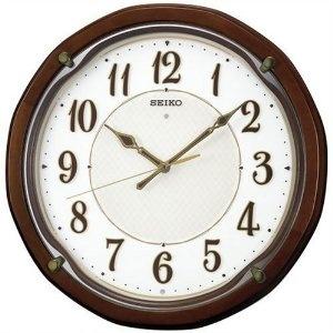 Shop Nbc.com Watches - SEIKO CLOCK (セイコークロック) 掛け時計 電波時計 全面点灯 木枠 KX319B   最新の時間センター