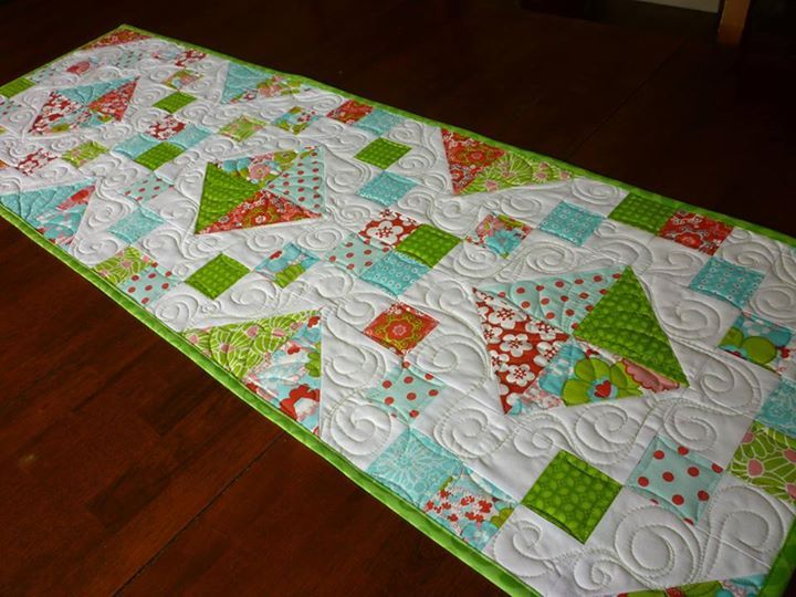 201 Best Quilted Potholders And Table Runners Images On Pinterest