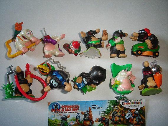 Kinder Surprise Set  Mole Mission 1 Moles  by KinderSurpriseToys