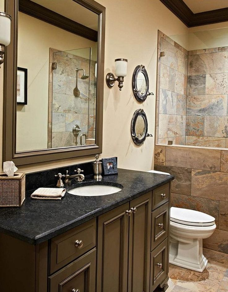 1000 Ideas About Small Dark Bathroom On Pinterest