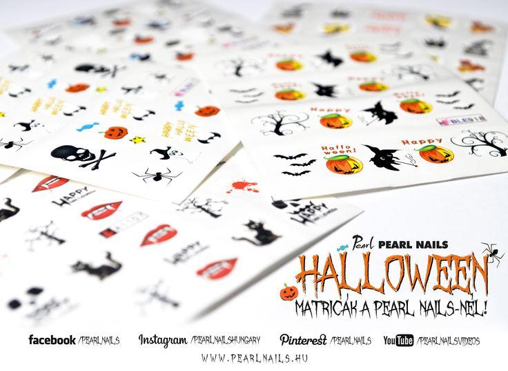 Új Halloween mintás matricák érkeztek! New Halloween patterned stickers has arrived!