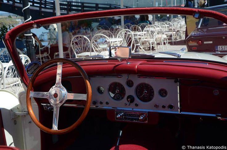 BMW 501/8. 1959. Τιμόνι και καντράν.