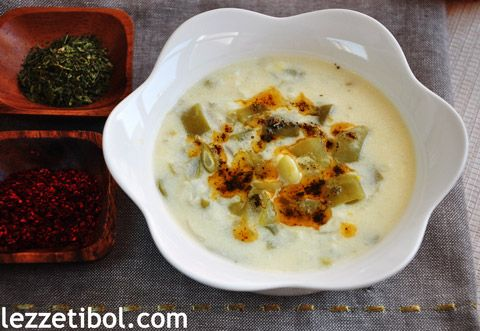Yoğurtlu Taze Fasulye Çorbası | Lezzetibol