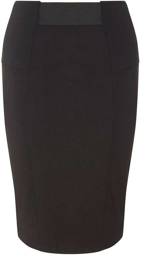 Petite Black Tube Skirt