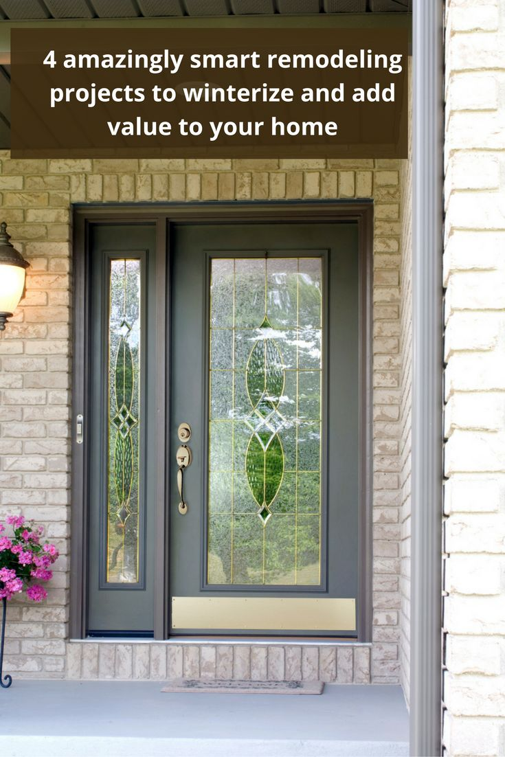 20 best front doors images on pinterest front doors front entry 4 amazingly smart projects to winterize and add resale value to your home eventelaan Choice Image