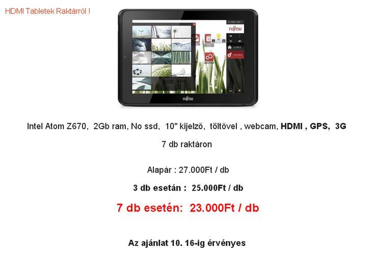 Októberi tablet, #laptop AKCIÓK !!! HDMI #tábletek raktárról ! Nézz be hozzánk, biztosan nem fogsz csalódni !