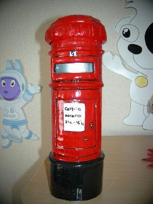 Alcancia buzon de correo postal realizada con un tubo de - Buzon de correos ...